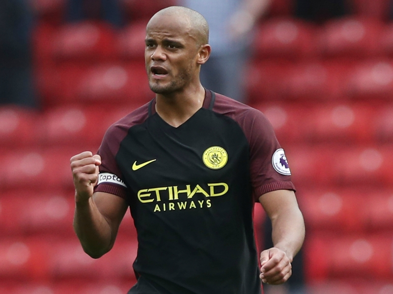 Man City captain Kompany eyeing international retirement after 2018 World Cup