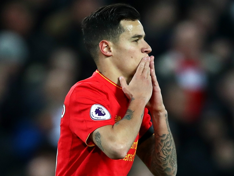 Coutinho is Liverpool's Hazard, says Mignolet