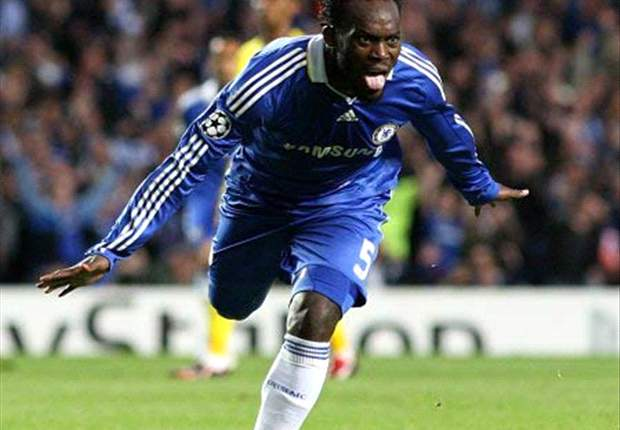 Michael Essien in USA for Chelsea's pre-season