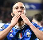 HIGUAIN: Juventus striker ends four-year CL drought