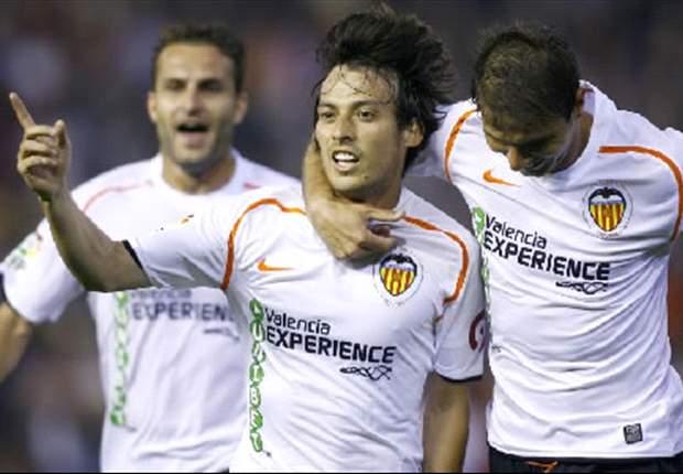 David Silva Happy At Valencia; Not Thinking About Real Madrid