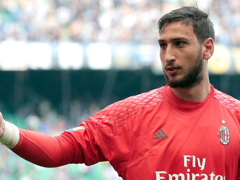 Montella: Donnarumma is like a child, he won't captain AC Milan