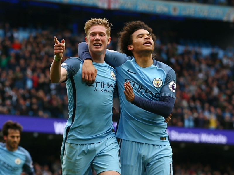 De Bruyne edges ahead of Aguero as Man City's most potent Premier League weapon