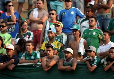 Scontri 'pre' Palmeiras-Santos, un morto