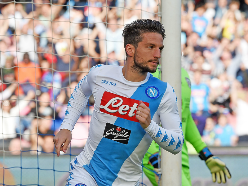 Mertens Napoli extension imminent and Sarri can stay for life, says De Laurentiis
