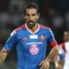 Robert Pires of FC Goa on the attack against NorthEast United FC