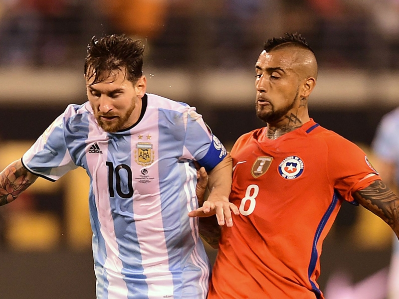 Vidal claims rules are different for Messi after ban appeal win