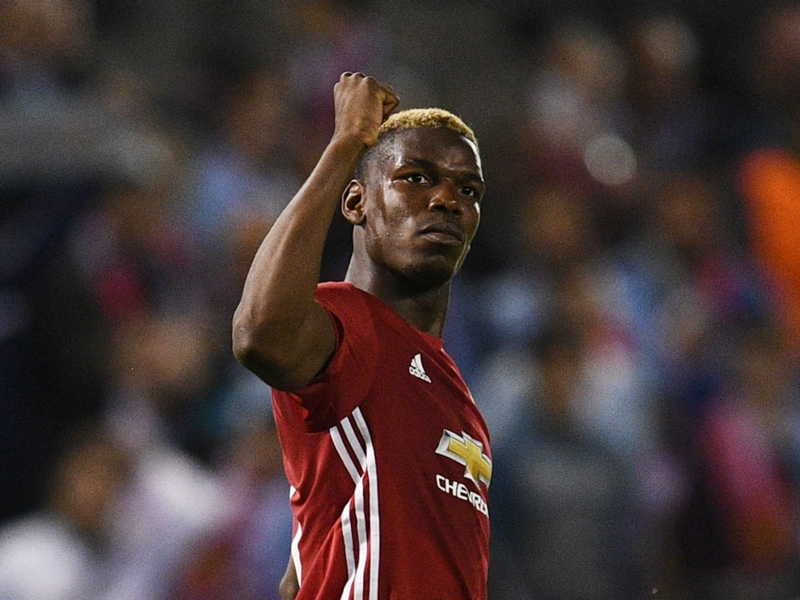 Pogba misses Man United's Southampton clash to attend father's funeral