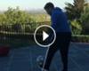 VÍDEO: Giuseppe Rossi ya toca balón... ¡con muletas!