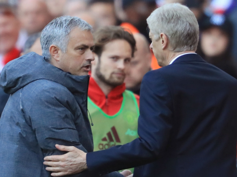 It is not manager against manager – Wenger shrugs off breaking Mourinho curse