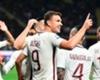 Dzeko hits historic mark for Roma
