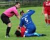 Incredible brawl in women's football match