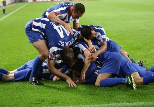"""""""Wir haben einen UEFA-Pokal-Platz sicher, wollen aber mehr"""" - Stimmen zum Hertha-Sieg"""
