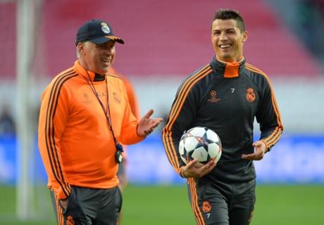 Ancelotti hails Ronaldo