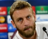 De Rossi: Roma play better in the Champions League