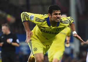 Diego Costa segue fora do Chelsea
