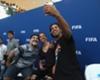 Diego Maradona, Ronaldinho and Carli Lloyd greet fans at Seef Mall in Bahrain