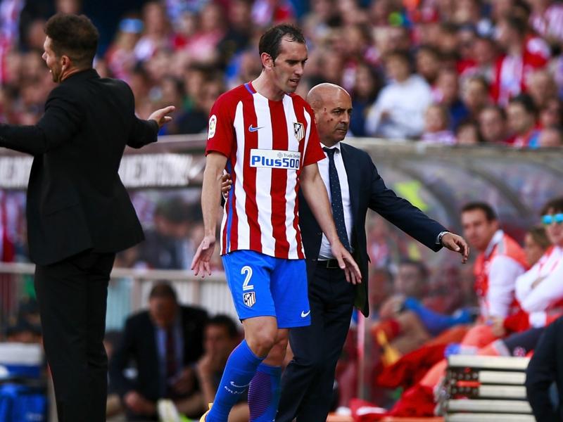 Banned Godin set to miss rest of La Liga season