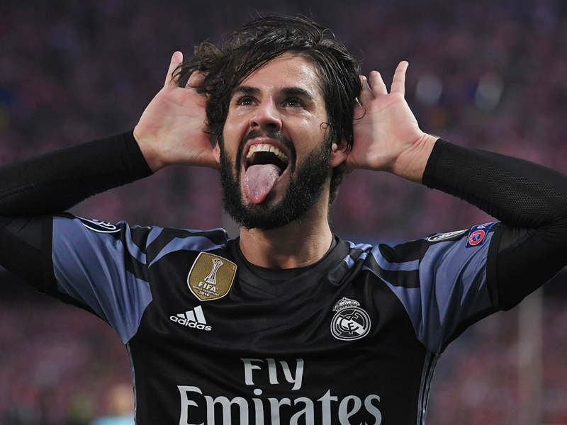 Real Madrid, les fans votent Isco