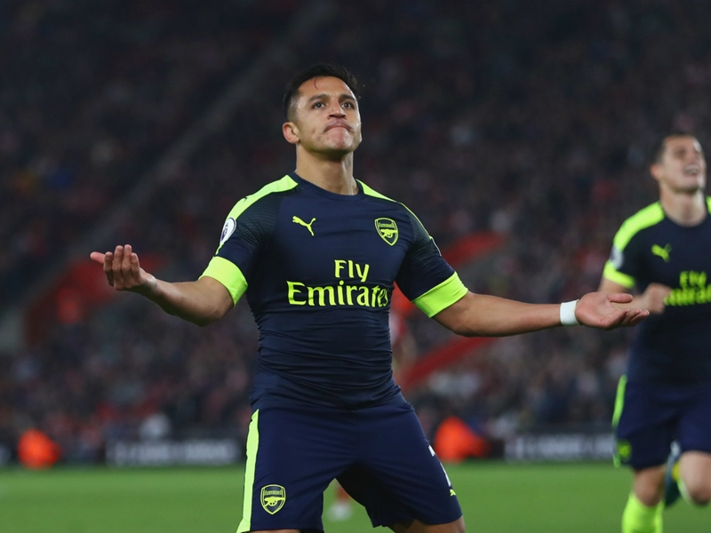 'That's Sanchez' - Wenger hails Arsenal forward as he helps keep top-four dreams alive
