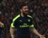Giroud considers Arsenal exit