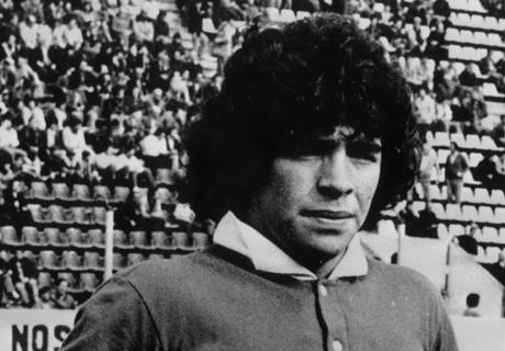 El día que debutó Maradona