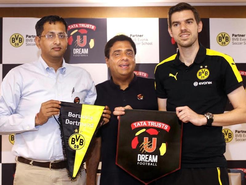 Tata Trusts U Dream Football ties up with Bundesliga side Borussia Dortmund