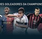 Galeria: Os maiores goleadores da Champions
