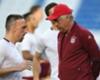 Ancelotti denies Ribery rift