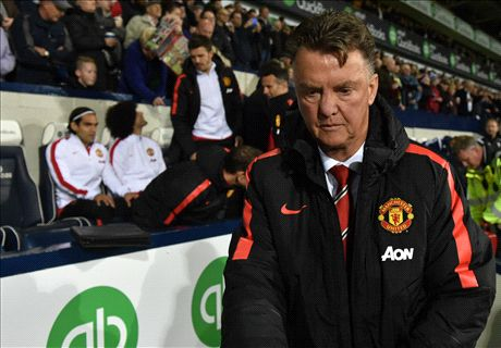Man Utd tally 'not too good' for Van Gaal