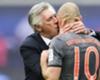 Ancelotti devuelve el beso a Robben