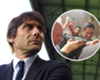 Conte's interview interrupted by Costa