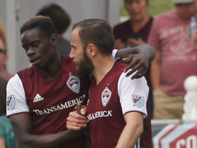 WATCH: Dominique Badji delivers incredible assist for Rapids goal