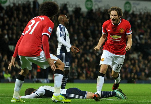 West Brom 2-2 Manchester United: Late Blind strike rescues point