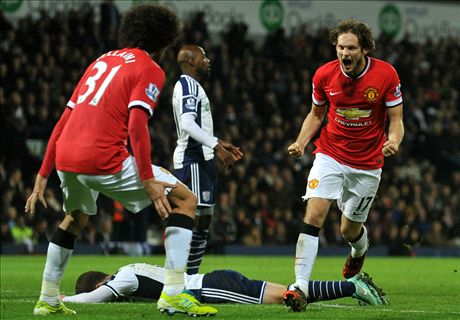 Late Blind strike rescues Man Utd