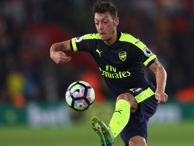 Ozil has blossomed in new Arsenal role - Wenger