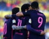 Neymar hits first Barca away hat-trick