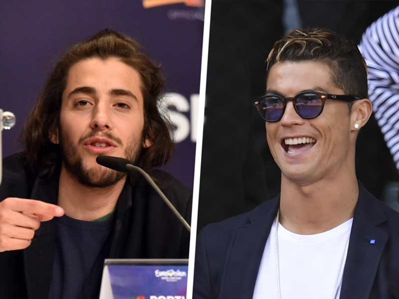 'I'm not a national hero, Ronaldo is' - Portuguese Eurovision winner pays tribute to Real Madrid star