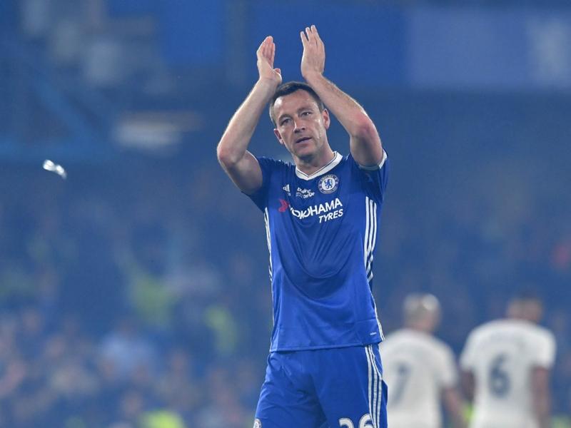 Chelsea a rendu hommage à Terry