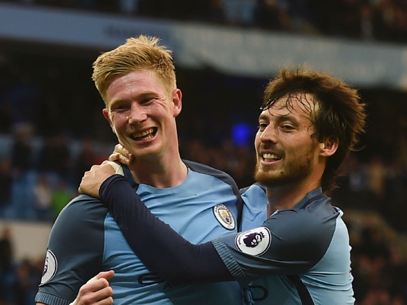 De Bruyne sets new Man City assist record