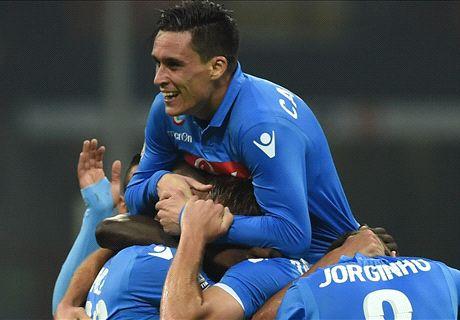 Napoli-Parma LIVE! 2-0, Mertens