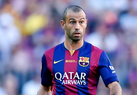 Mascherano Barca's Player of the Year