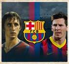 Who's the bigger Barca icon - Cruyff or Messi?