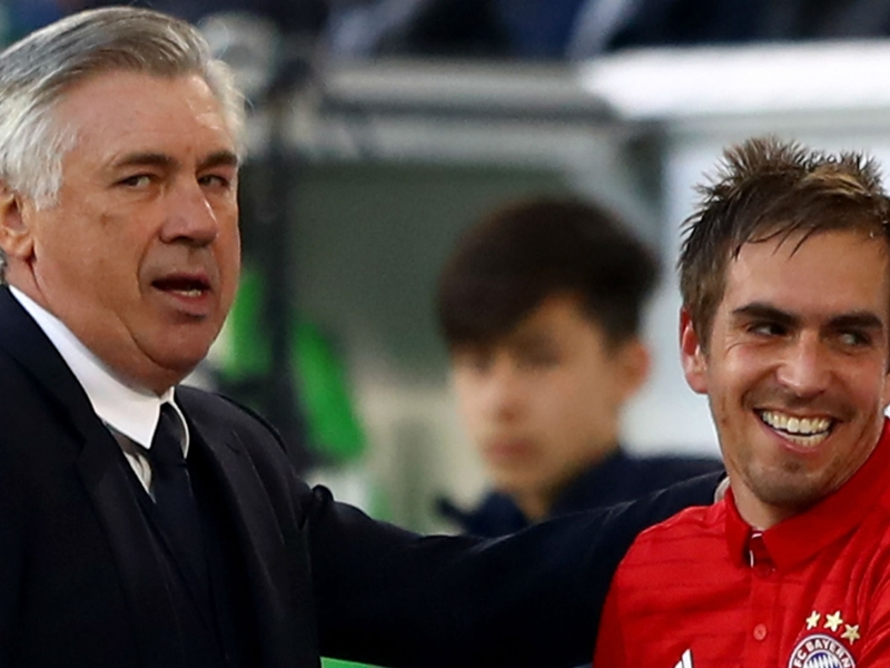 Retiring Bayern legend Lahm ignoring Ancelotti's 'every day' pleas to stay on