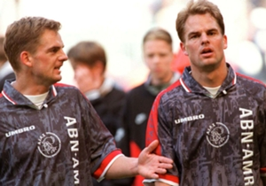Ronald de Boer - Ajax: 1987 - 1991 & 1993 - 1999 | Barcelona: 1999 - 2000