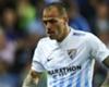 Malaga forward Sandro