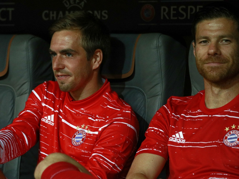 Guardiola lauds 'exceptional' Bayern veterans Lahm & Alonso as Gerrard hails ex-colleague