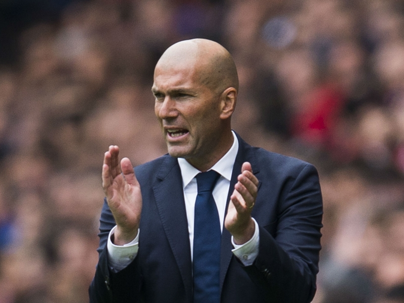 Zidane billed as 'best coach in the world' by Madrid president Perez
