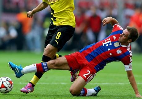 Tackling: Bayern langt zu