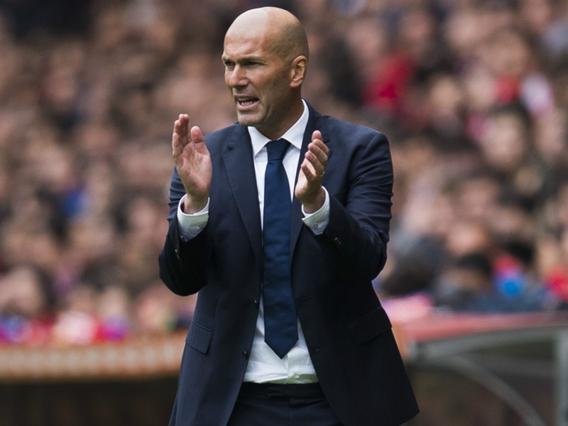 Physically, we're f****** great – Zidane feels Real Madrid are primed to claim La Liga title